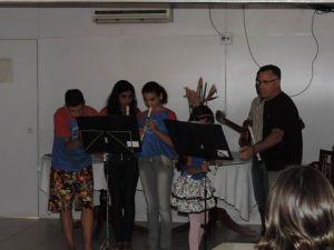 A música trouxe mais motivação para os alunos