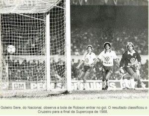 1988 Cruzeiro 1x0 Nacional URU 2