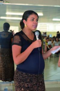 Nutricionista do PAA, Gabriela Cristina Sales
