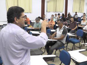 Delegado regional do Sintamig, José Antônio dos Reis falou da habilitação para prescrição do receituário agronômico