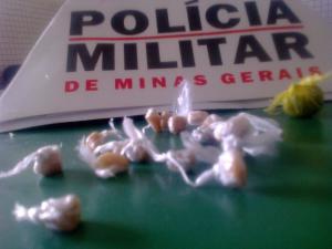 Drogas foram encontradas em um imóvel da Rua Frei Carlos Frantini