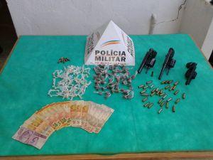 Material recolhido pela PM no distrito de Revés do Belém