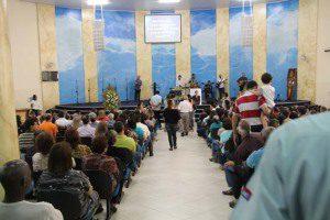 Igreja ficou lotada para culto fúnebre