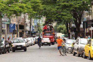 Cortejo passou pelas ruas da cidade