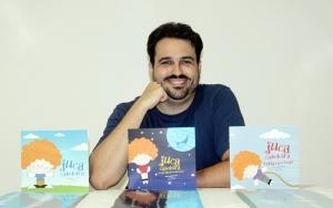 João André Grossi e a trilogia Juca Cabeleira (foto: Goretti Nunes)