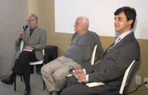 Os professores José Aylton, Munir Saygli e José Geraldo Batista