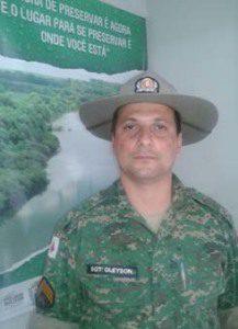 Sargento Gleyson falou das ações da Polícia Ambiental durante o período da Piracema