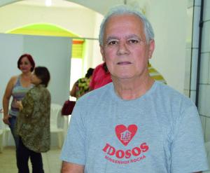 Edmar Nunes Correa, 'Bizuca', é presidente do Lar dos Idosos Monsenhor Rocha, entidade eleita para a nova gestão do Conselho