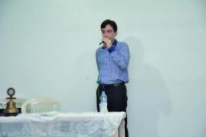 O médico Marcelo Cruz foi quem proferiu a palestra