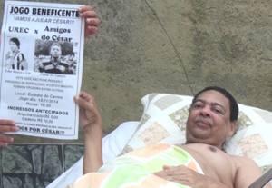 Renda irá custear o tratamento de saúde de César (foto: Rádio Cidade)