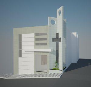 Projeto de capela velório da Paróquia Nossa Senhora da Conceição