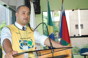 Grazziani Santana de Oliveira, coordenador do Projeto Mãos que Ajudam