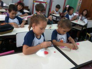 Primeira semana de aula foi marcada por atividades lúdicas