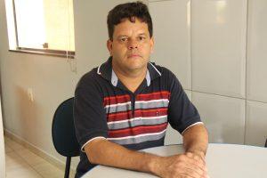Eugênio Ribeiro da Silva, presidente da Associação