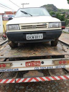 Veículo foi encontrado na Rua Sebastião Lourenço