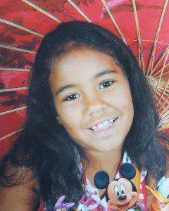 Rosilaine de Souza Luz, 11 anos