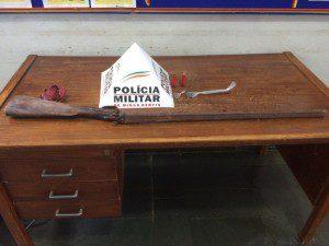 Material encontrado na casa do investigado
