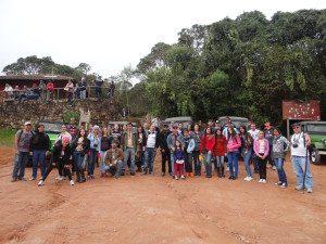 Alunos do curso de Letras apreciaram a visita ao Parque Nacional do Caparaó