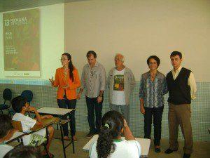Evento contou com a participação dos professores
