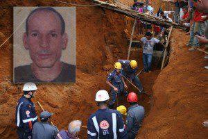 Trabalhador, João Ferreira, morreu soterrado em deslizamento de barranco (foto: Wesley Rodrigues/Diário do Aço)