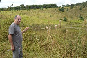 Wilson Acácio, coordenador das Unidades de Conservação de Caratinga