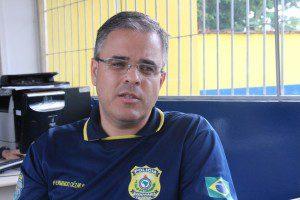 Inspetor Fernando Cézar explica que novo procedimento dará celeridade ao trabalho da PRF