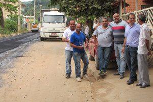 Moradores agradecem o empenho do prefeito Osmaninho