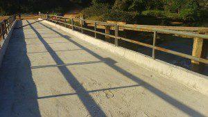 Ponte foi feita para suportar o fluxo de veículos, que aumentou muito nos últimos anos