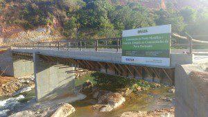 Ponte tem 36 metros de extensão