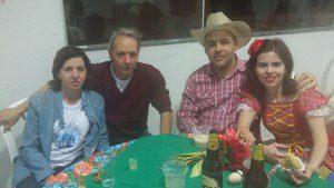Geraldinha, Ângelo, Alfredo e Morena