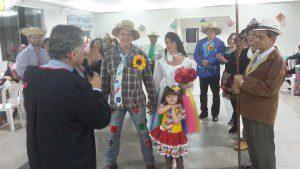 Paulo Sérgio da Silveira celebra o casamento de João Bosco e Julimara
