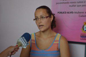 Coordenadora da Casa da Mulher, Aparecida de Sousa Duarte