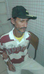 Marcos foi preso em flagrante