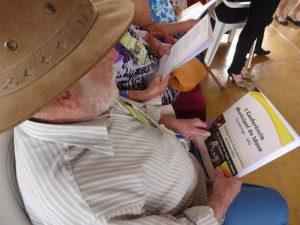 Palestra serviu para despertar o protagonismo nos idosos e foi uma forma de incentivá-los a exigirem seus direitos