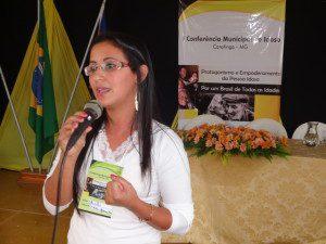 Palestrante Shirlei Maclin Ferreira