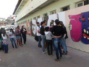 Atividades contaram com a participação dos alunos