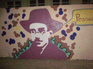Fernando Pessoa também foi lembrado pelos artistas