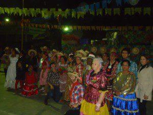 Participaram os grupos de 3ª idade do Centro, Bairro Santo Antônio e dos córregos Januários, Brás e Bela Fama