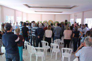 Velório aconteceu na sede do Lions Clube Centro Caratinga durante o dia de ontem