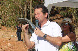 Pronunciamento do prefeito Marco Antônio