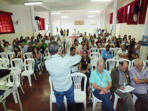 Professor Eugênio fala das metas administrativas