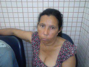 Maria disse que já foi agredida pelo ex-marido várias vezes