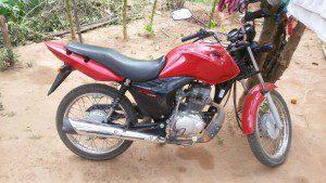 Moto foi encontrada no distrito de Santo Antônio do Manhuaçu