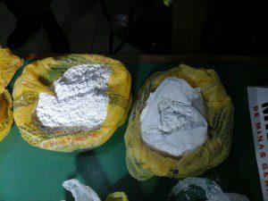 Cocaína seria misturada junto a outro produto