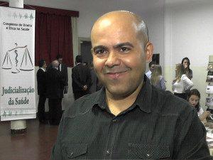 Médico Wellington de Souza Mata, coordenador do Curso de Medicina