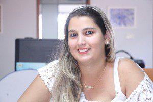 Andreísa fala sobre expectativas para o concurso