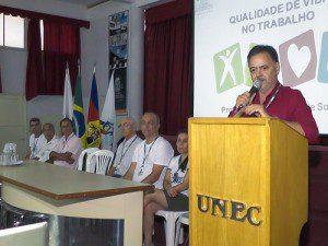 Abertura da Sipat foi feita pelo professor Eugênio Maria Gomes