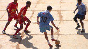 Meninos mostraram futebol de gente grande