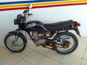Moto tinha sido furtada, em Caratinga, no dia 19 de agosto