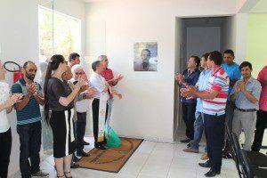 A Unidade Básica de Saúde recebeu o nome de Orlando Dias Ferreira